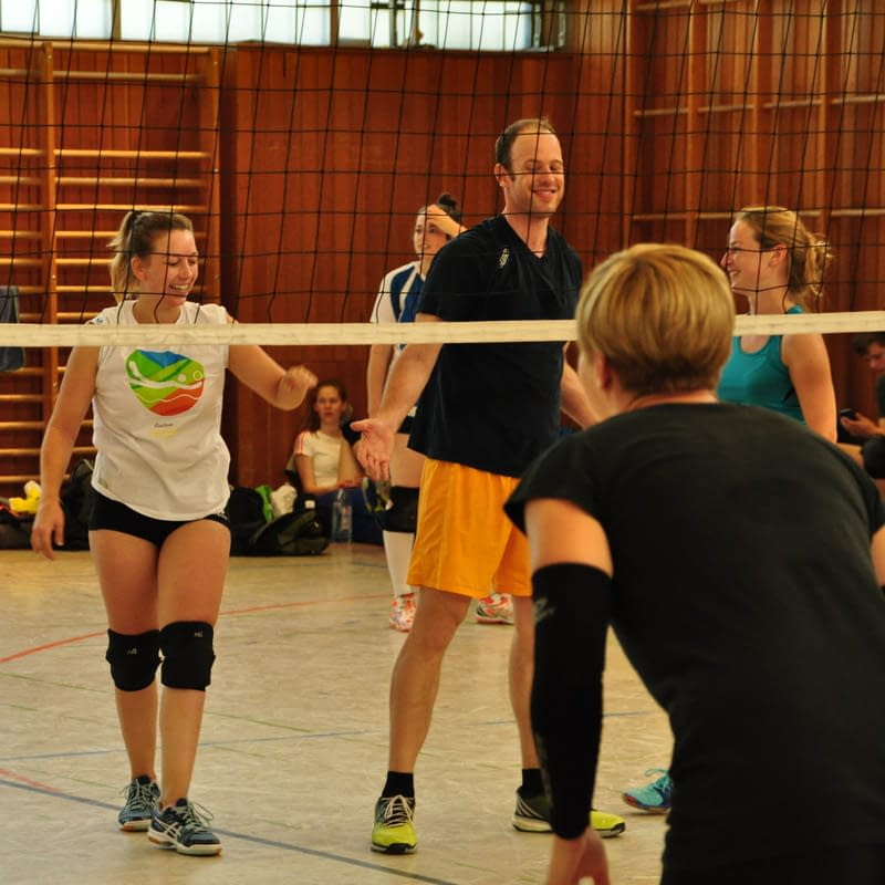 Internationales Volleyball-Mixed-Turnier in Konz