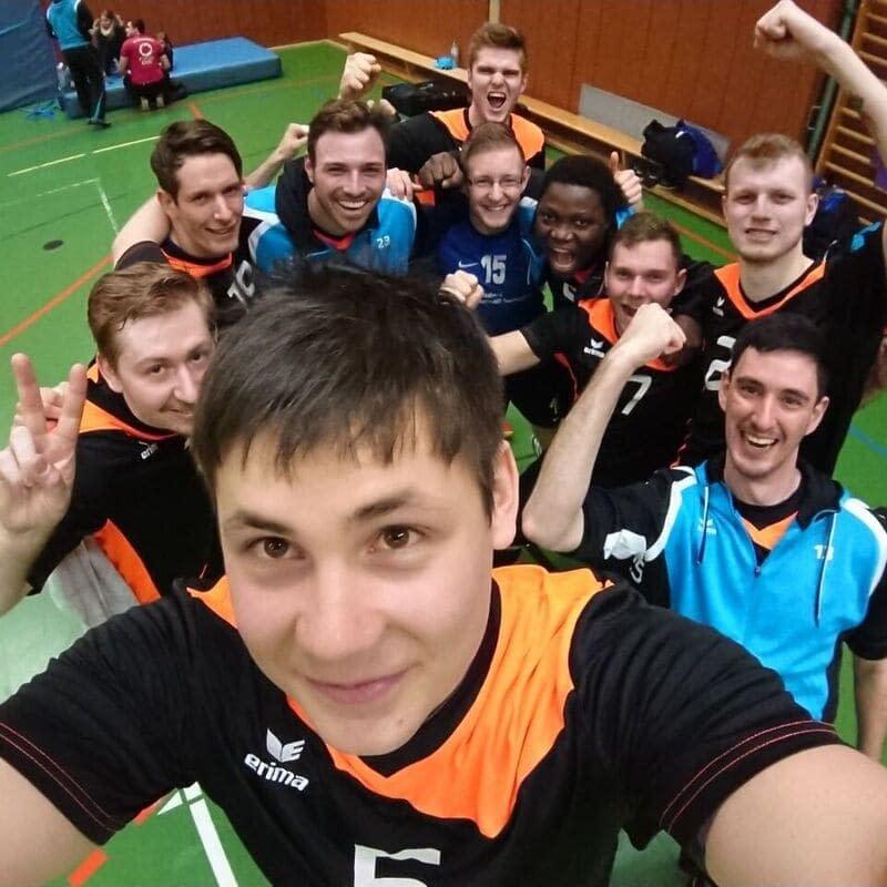 Herren der TG Konz Volleyball